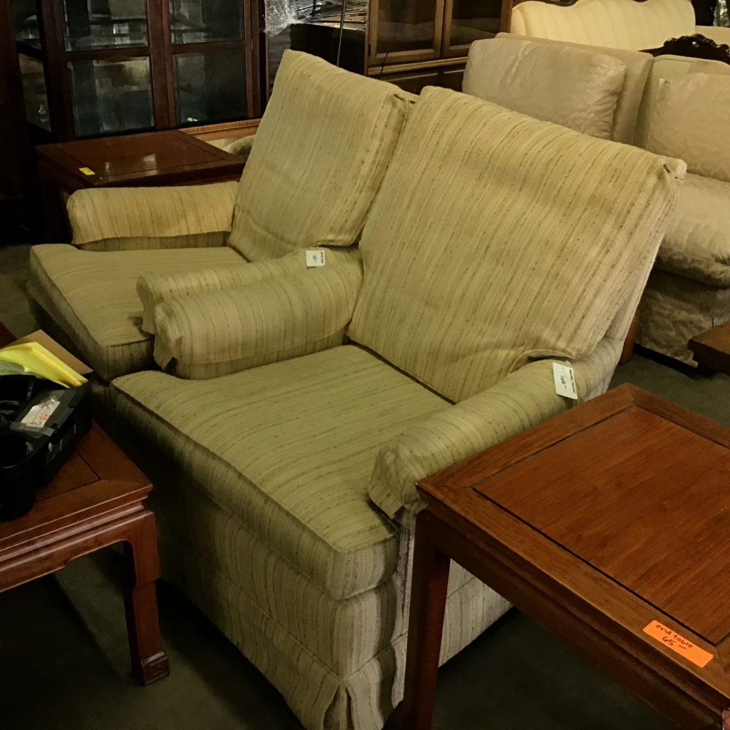 Vintage chairs swivel rock