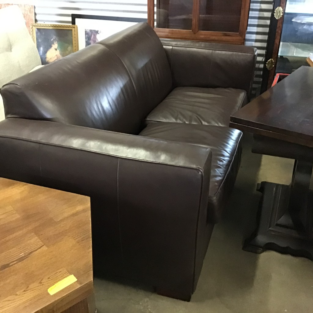 Room and Board, lovesseat, seating, sofa leather